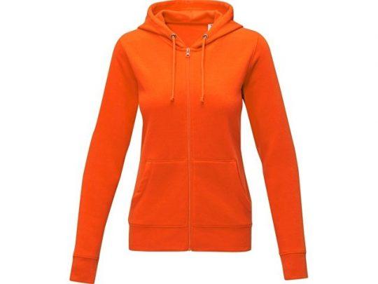 Женская толстовка на молнии Theron, оранжевый (XS), арт. 022879003