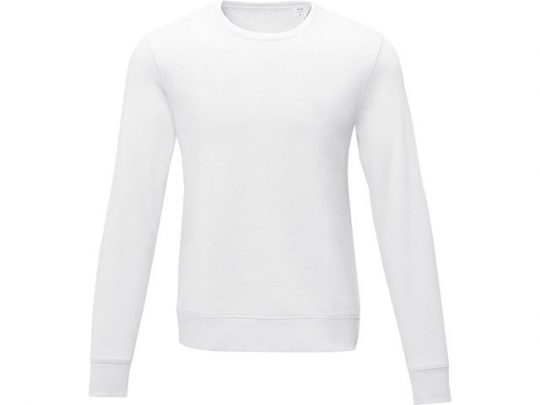 Мужской свитер Zenon с круглым вырезом, белый (4XL), арт. 022887403