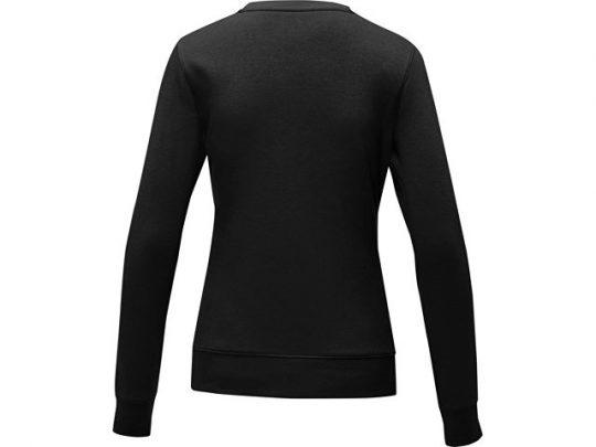 Женский свитер Zenon с круглым вырезом, черный (4XL), арт. 022888403