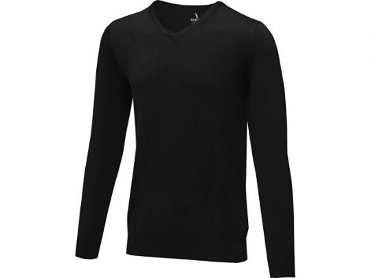 Мужской пуловер Stanton с V-образным вырезом, черный (L), арт. 022284103
