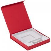 Коробка Memoria под ежедневник, аккумулятор и ручку, красная