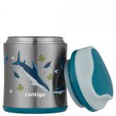 Термос для еды детский FoodJar Sharks