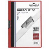Папка Duraclip Original, красная