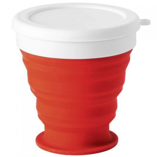 Складной стакан Astrada, красный