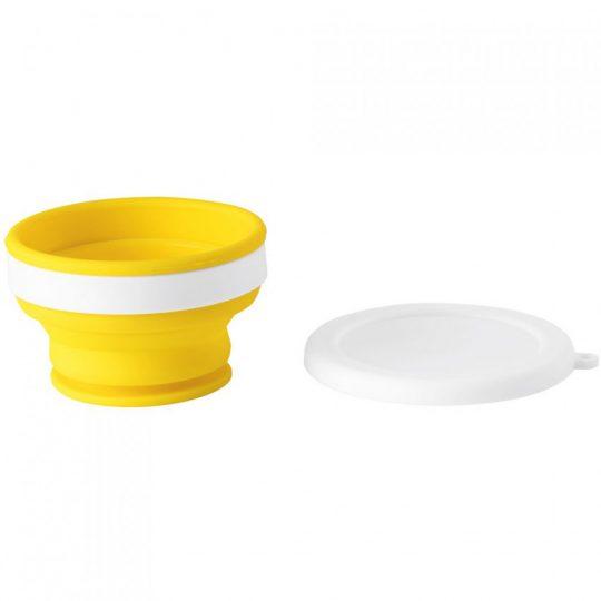 Складной стакан Astrada, желтый
