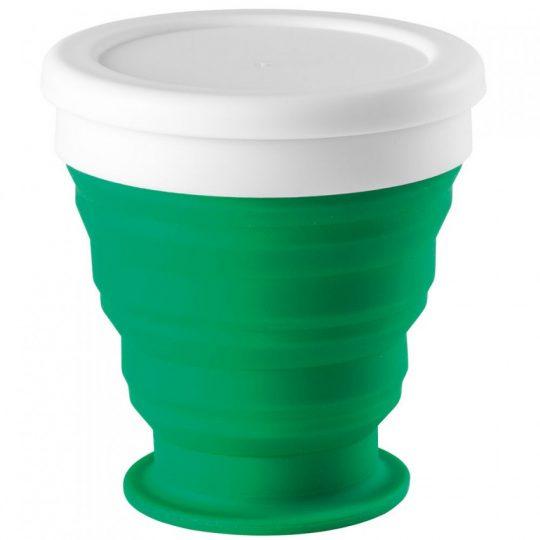 Складной стакан Astrada, зеленый