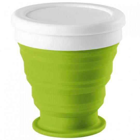 Складной стакан Astrada, зеленое яблоко
