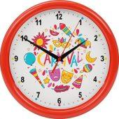 Часы настенные разборные Idea, красный, арт. 022975403
