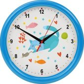 Часы настенные разборные Idea, голубой, арт. 022975203