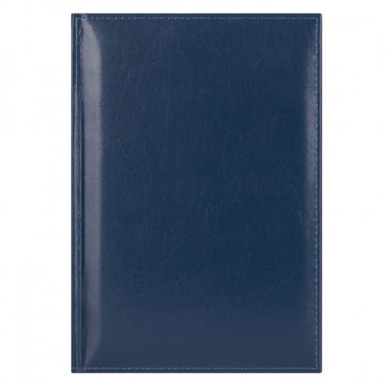 Ежедневник недатированный Madrid, 145×205, натур.кожа, синий, подарочная коробка