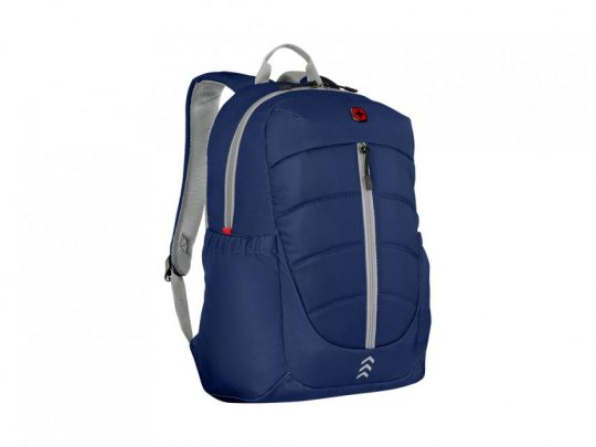Рюкзак WENGER Engyz 16, синий, 100% полиэстер, 33х20х46 см, 21 л, арт. 023067903