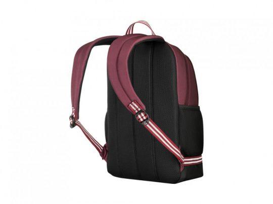 Рюкзак WENGER Collegiate Quadma 16, красный, 100% полиэстер, 33х17х43 см, 22 л, арт. 023068103