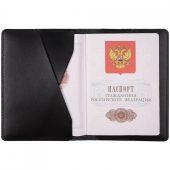 Обложка для паспорта inStream, черная