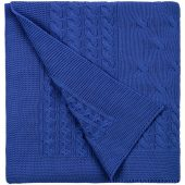 Плед Reframe, ярко-синий (василек)