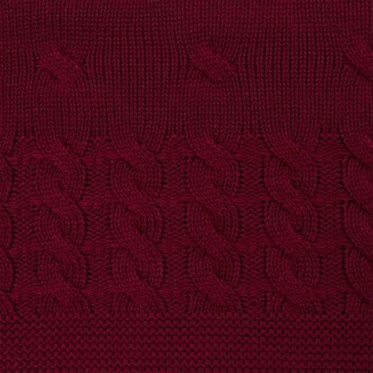 Плед Reframe, бордовый