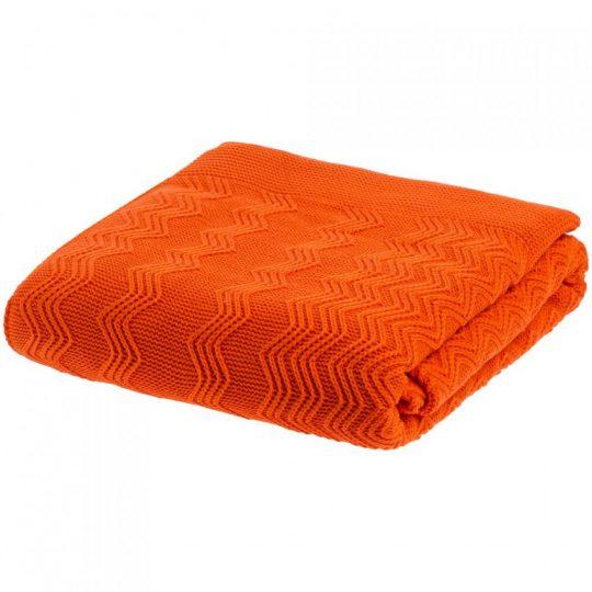 Плед Marea, оранжевый (апельсин)