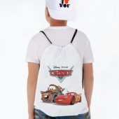 Рюкзак McQueen and Mater, белый
