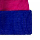 Шапка Snappy, розовая (фуксия) с синим