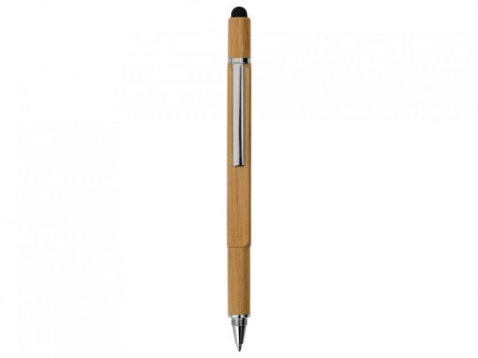 Ручка-стилус из бамбука Tool с уровнем и отверткой, арт. 023109603