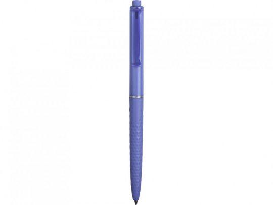 Ручка пластиковая soft-touch шариковая Plane, светло-синий, арт. 023109503