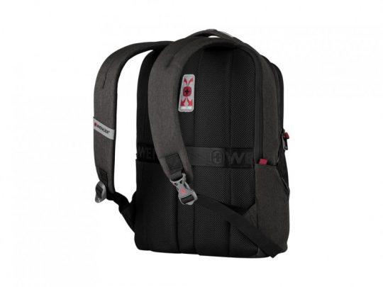 Рюкзак WENGER MX Professional 16, серый, 100% полиэстер, 33х21х45 см, 21 л, арт. 023067303