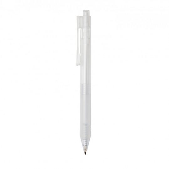 Ручка X9 с матовым корпусом и силиконовым грипом, арт. 023070306