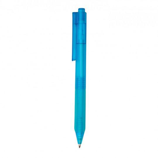 Ручка X9 с матовым корпусом и силиконовым грипом, арт. 023070406
