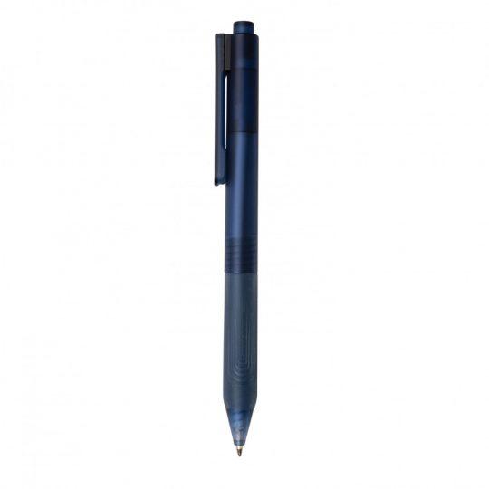 Ручка X9 с матовым корпусом и силиконовым грипом, арт. 023070606