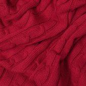 Плед Fado вязаный, 160*90 см, красный (без подарочной коробки)