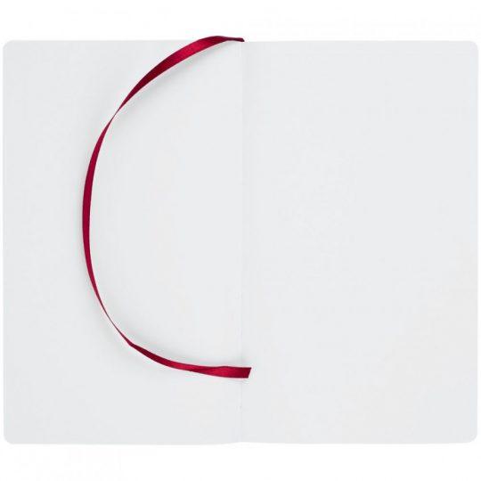 Блокнот Blank, бордовый