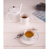 Набор PLATINUM: чайная пара и чайник в подарочной упаковке