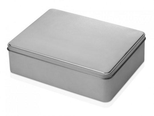 Коробка прямоугольная, серебристый, арт. 023700703