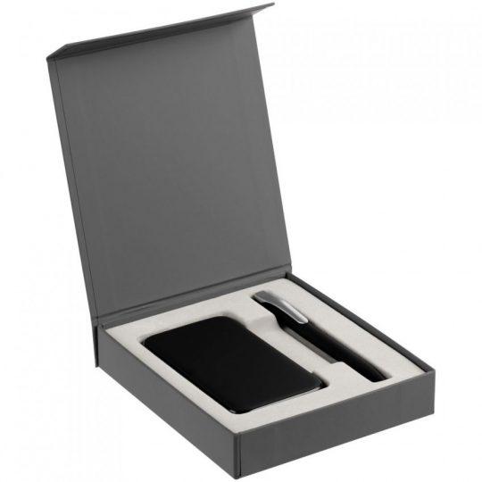 Коробка Latern для аккумулятора и ручки, серая