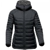 Куртка компактная женская Stavanger черная с серым, размер L