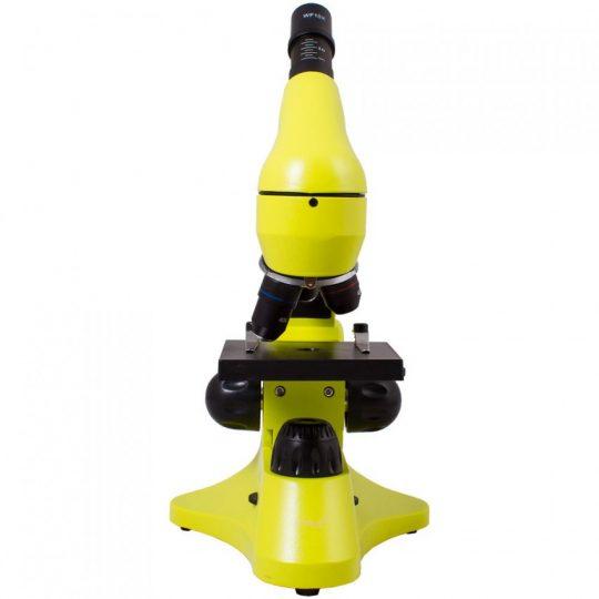 Монокулярный микроскоп Rainbow 50L с набором для опытов, зеленое яблоко