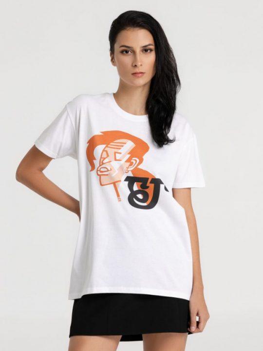 Футболка «Меламед. Борис Гребенщиков», белая, размер L