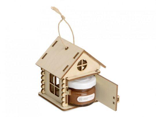 Подарочный набор Крем-мед в домике, крем-мед с грецким орехом 35 г, арт. 023813703