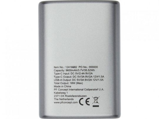 Беспроводное портативное зарядное устройство PD емкостью 9600 мАч Tron Mini, арт. 023844803
