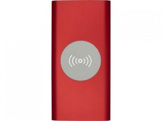 Беспроводное портативное зарядное устройство емкостью 8000 мАч Juice, красный, арт. 023845503