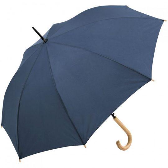 Зонт-трость OkoBrella, темно-синий