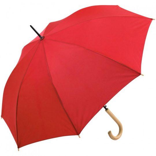 Зонт-трость OkoBrella, красный