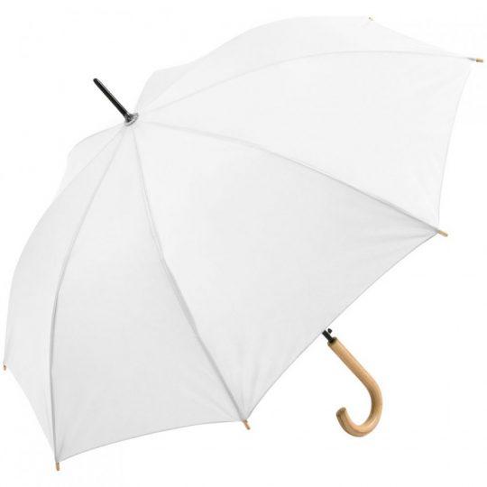 Зонт-трость OkoBrella, белый