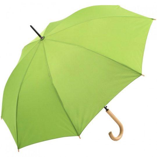 Зонт-трость OkoBrella, зеленое яблоко