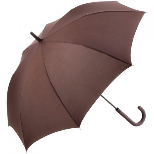 Зонт-трость Fashion, коричневый