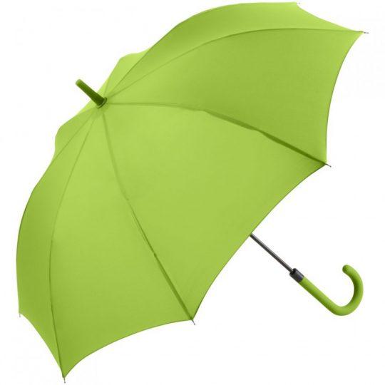 Зонт-трость Fashion, зеленое яблоко