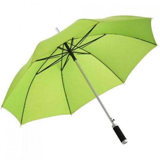 Зонт-трость Vento, зеленое яблоко