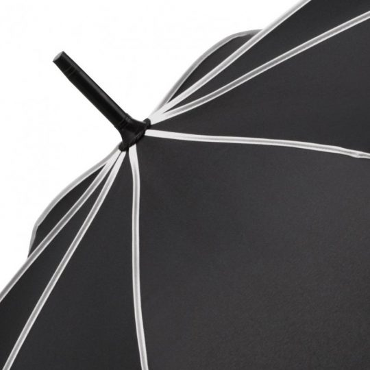 Зонт-трость Seam, светло-серый
