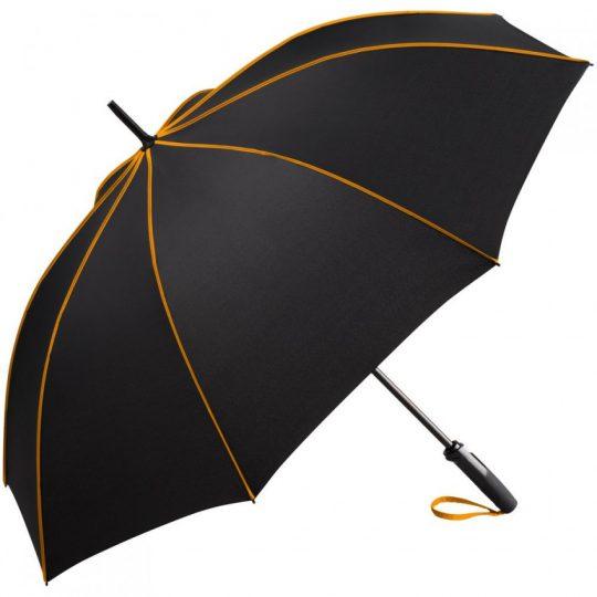Зонт-трость Seam, оранжевый
