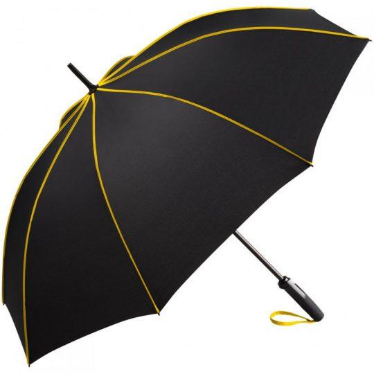 Зонт-трость Seam, желтый