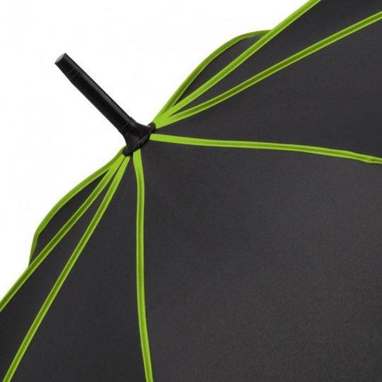 Зонт-трость Seam, зеленое яблоко